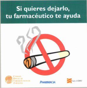 El asesoramiento farmacéutico aumenta las posibilidades de éxito en la deshabituación tabáquica
