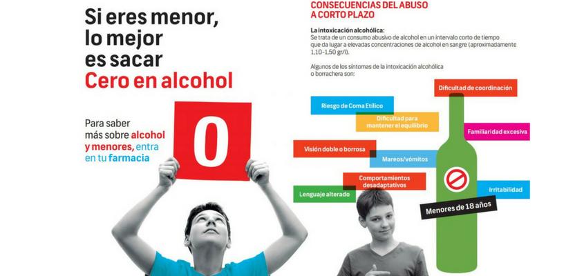 Consulta a tu farmacéutico para saber más sobre la campaña #menoresniunagota