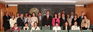 El consejero de Sanidad preside la Toma de Posesión  de la nueva junta de gobierno del  Colegio Oficial de Farmacéuticos de Zaragoza