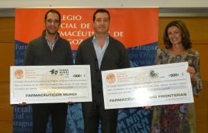 El Colegio Oficial de Farmacéuticos dona 1000 euros para ayuda humanitaria