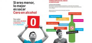 Consulta a tu farmacéutico para saber más sobre la campaña para prevenir el consumo de bebidas alcohólicas en menores