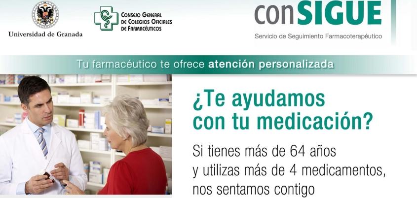 El proyecto conSIGUE, en el que participan varias farmacias de Zaragoza, recibe un premio internacional