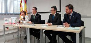 El Banco de Sangre del Gobierno de Aragón y los Colegios de Farmacéuticos de Zaragoza, Huesca y Teruel  firman un convenio para la promoción de la donación de sangre, médula y leche