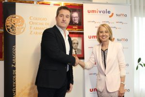 umivale firma un convenio de colaboración con el Colegio de Farmacéuticos de Zaragoza (COFZ)