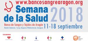 Las farmacias colaboran en la difusión de la Semana de la Salud que organiza el Banco de Sangre y Tejidos de Aragón (del 11 al 18 de septiembre)