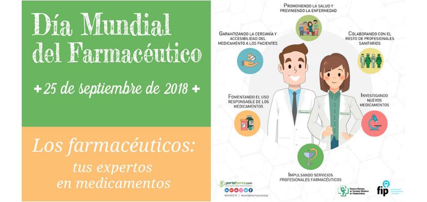 Los farmacéuticos aragoneses conmemorarán el próximo 25 de septiembre el Día Mundial del Farmacéutico. En Aragón hay en la actualidad 1794 farmacéuticos colegiados, el 71% son mujeres