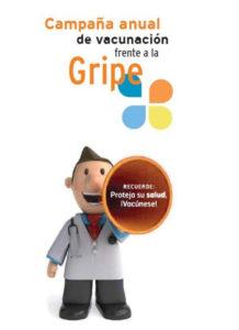 Vacúnese frente a la gripe. Campaña informativa en las farmacias de Aragón