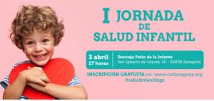 """Abierta la inscripción gratuita para la """"I Jornada de Salud Infantil"""". Os esperamos el 3 de abril"""