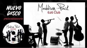 Invitación para el Concierto en Zaragoza del grupo de Jazz Maddison Pack