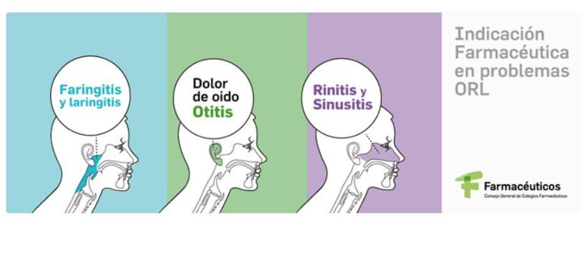 Los farmacéuticos inician una campaña para prevenir y mejorar el tratamiento en las patologías de oído, nariz y laringe más habituales