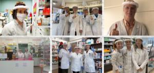 Balance del primer año de pandemia: La profesión farmacéutica de Zaragoza, 365 días en primera línea contra la Covid-19