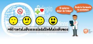 Día Mundial Sin Tabaco: Las Farmacias de Zaragoza ponen en marcha la iniciativa 'Afronta la desescalada sin malos humos' para recordar a los fumadores que son más vulnerables a la COVID-19