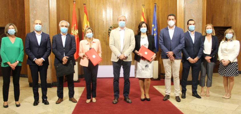 Los Farmacéuticos de Zaragoza refuerzan su colaboración con el Ayuntamiento para la difusión de los niveles de polen y mejorar la salud de la población