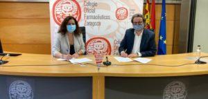El Consejo de COF de Aragón y SEFAC ARN firman un convenio para colaborar en la formación de los farmacéuticos aragoneses en cesación tabáquica