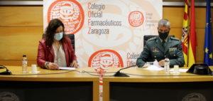 Las farmacias de Zaragoza colaboran con la Guardia Civil para mejorar la seguridad de las personas mayores