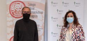 Los farmacéuticos de Zaragoza colaboran con el V Congreso Aragonés de Personas con Cáncer y Familiares
