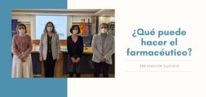 Las Farmacias se suman a la Estrategia de Prevención del Suicidio en Aragón
