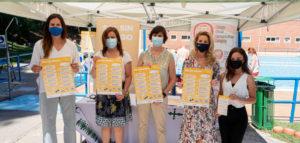 La campaña Sol Sin Riesgo vuelve a las farmacias y a las piscinas de Zaragoza con especial hincapié en la protección solar al practicar deporte al aire libre