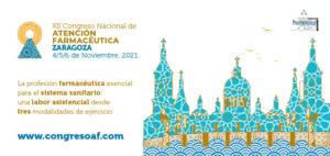 #12CongresoAF Farmacéuticos de toda España se reunirán en Zaragoza en el primer congreso presencial de la profesión tras el Covid (del 4 al 6 de novimbre)