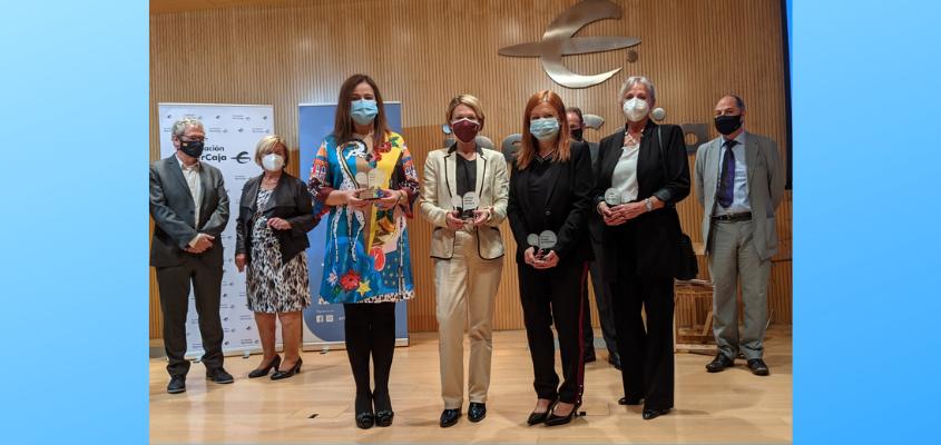 Los farmacéuticos de Zaragoza reciben un premio por su apoyo a los enfermos con trastorno de conducta alimentaria (TCA)